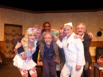 As Vaudeville Nurse, The Sunshine Boys