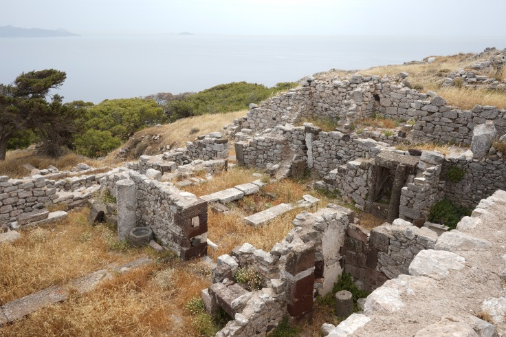 Ancient Ruins at Thira