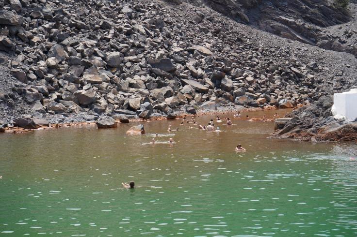 Swimming in Hot Springs