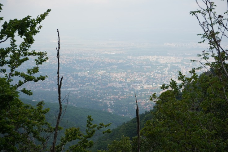 View from Vitosha Mountain