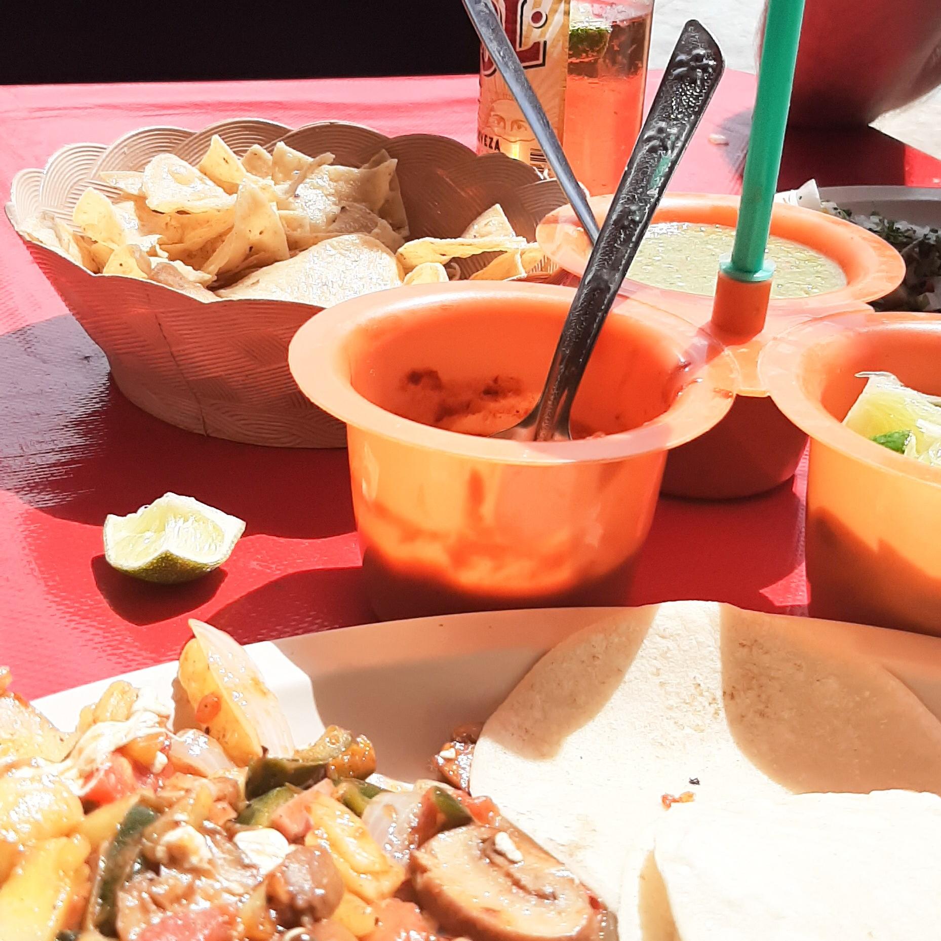 Build Your Own Taco at El Poblano