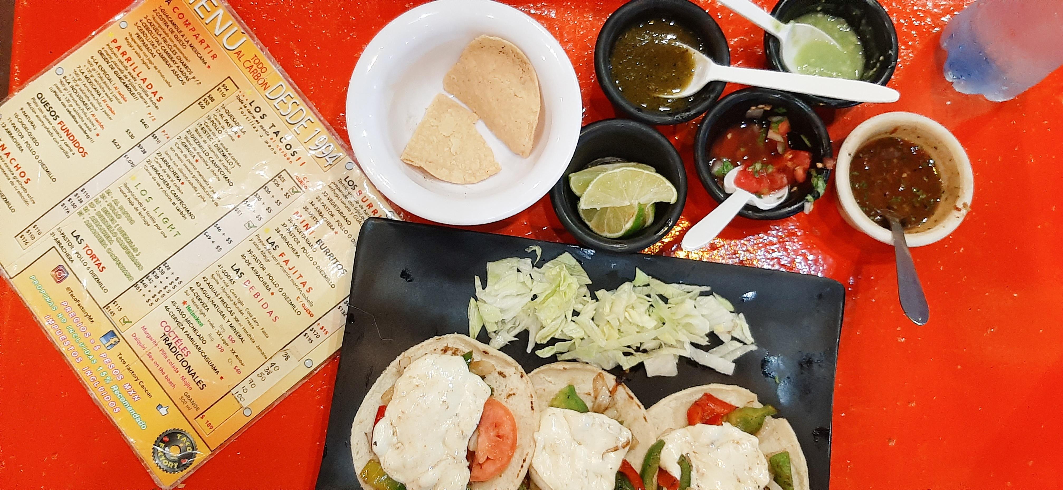 Taco Factory Cancun