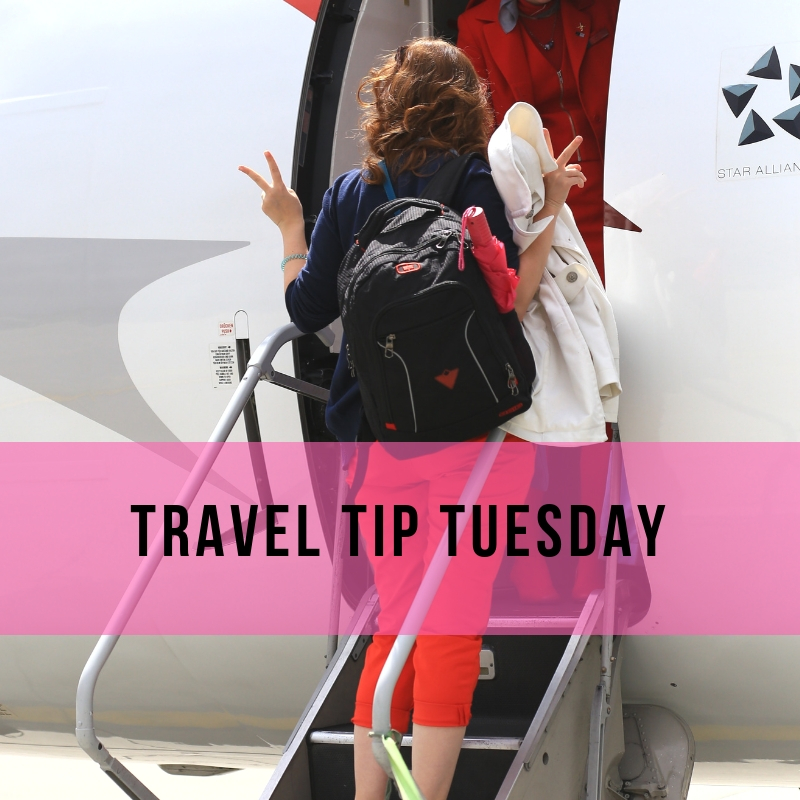 Travel Tip Tuesday - Flights